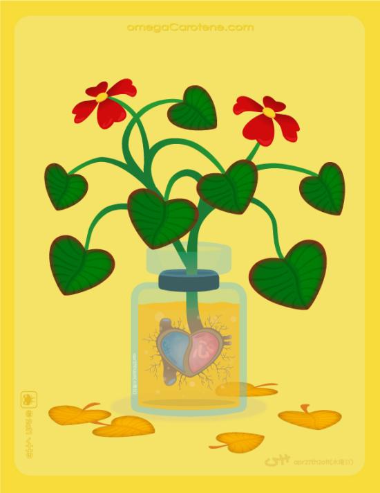 心kokoro-plant1 by vin-[oC]